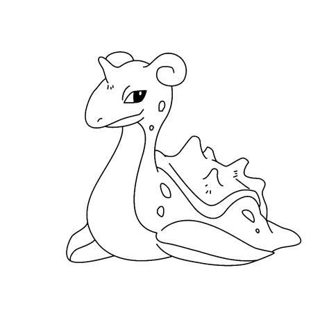 pokemon coloring pages lapras lapras coloring pages for kids