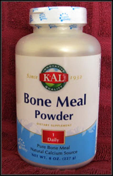 bone meal for dogs doggie chef calcium bone meal powder