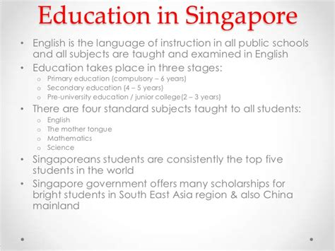 Mba In Singapore Without Work Experience by Singapore