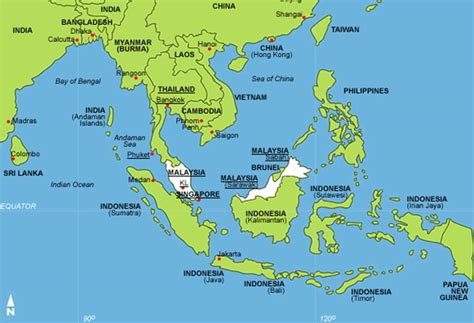 southeast asia map with capitals southeast asia map with capitals travel maps and major