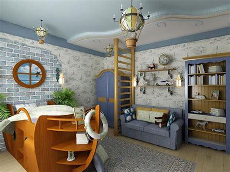 Nautical decor in interior design house interior