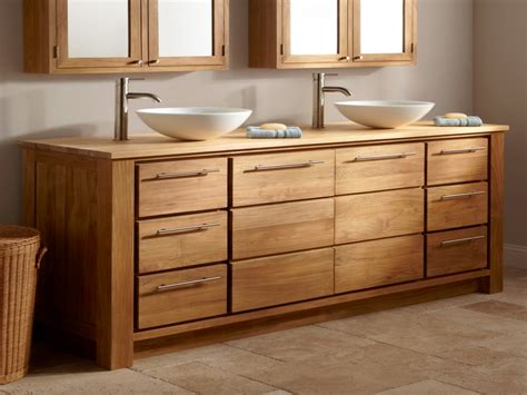 Solid Oak Bathroom Vanity Unit Bathroom Vanities Solid Solid Wood Vanity Units For Bathrooms