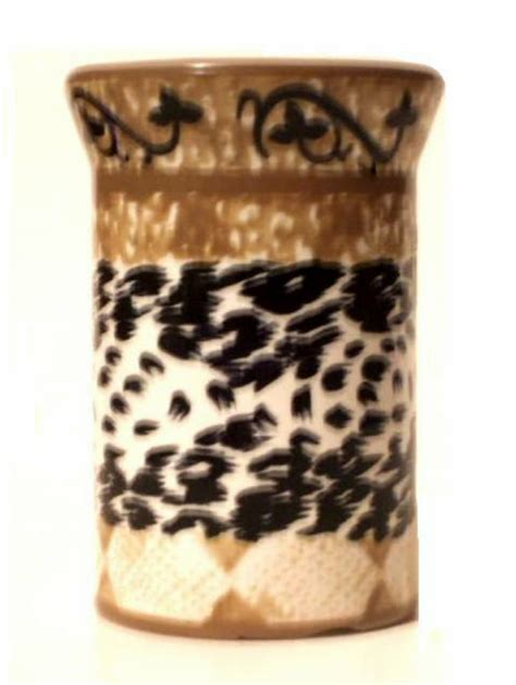 Animal Print Bathroom Tumbler Safari Bath Decor Animal Print Bathroom Accessories