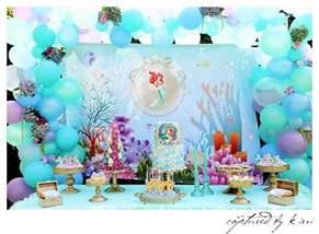mermaid party parties