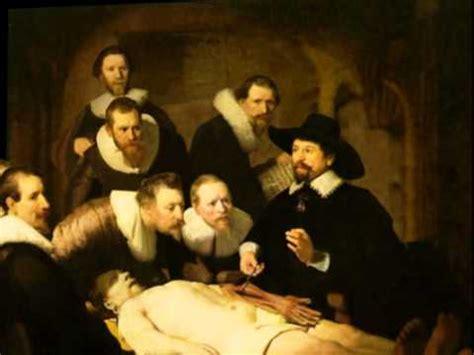 la lecci 243 n de anatom 237 a del doctor tulp 3d youtube