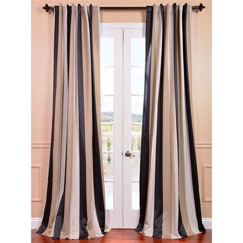 stripe blackout curtains exclusive fabrics georgetown stripe blackout curtain panel