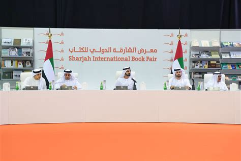uae cabinet meets amid 1 5 million titles at sharjah book