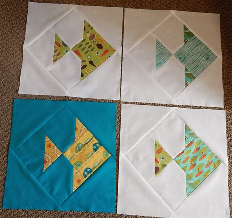Fish Quilt Blocks quilting cactus needle quilts fabric and more