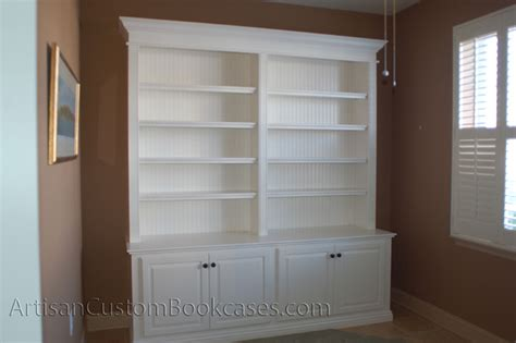 Bookcase Wall Unit Custom Wall Unit Bookcases Artisan Custom Bookcases