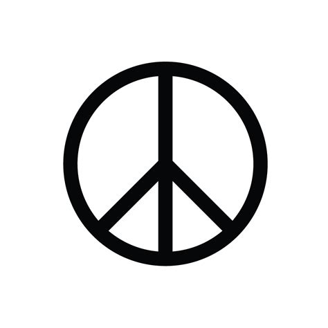 Free Peace Sign Template Download Free Clip Art Free Clip Art On Clipart Library Button Biz Template