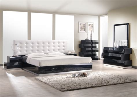 modern bedroom sets spaces modern with bedroom futniture milan modern bed