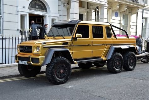 mercedes g class 6x6 car spots worldwide hourly updated