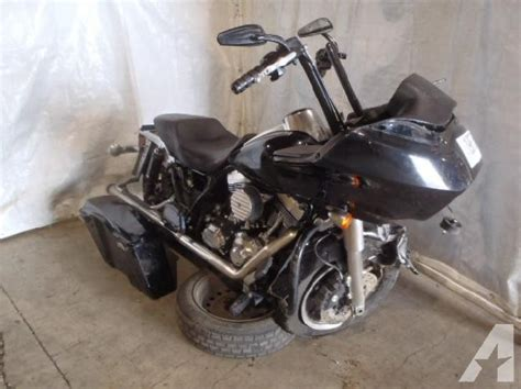 Harley Davidson Motorcycle Salvage by Wrecked Harley Motorcycles For Sale Harley Salvage Html