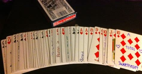 Deck Of Cards Gift For Girlfriend - perfect gift for a boyfriend girlfriend special someone best friend anyone so