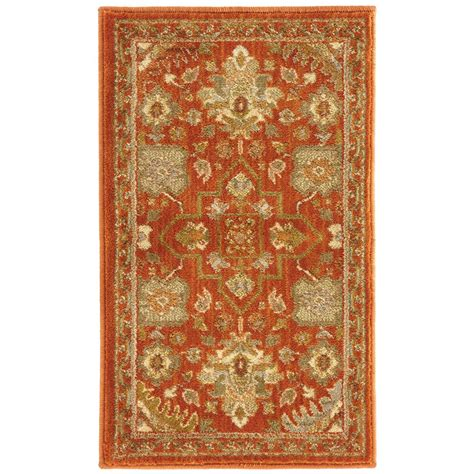 home accent rug collection home decorators collection grayson red 1 ft 10 in x 3 ft