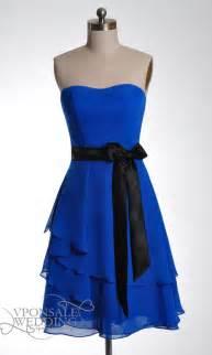 Short blue sweetheart bridesmaid dress dvw0057 vponsale wedding