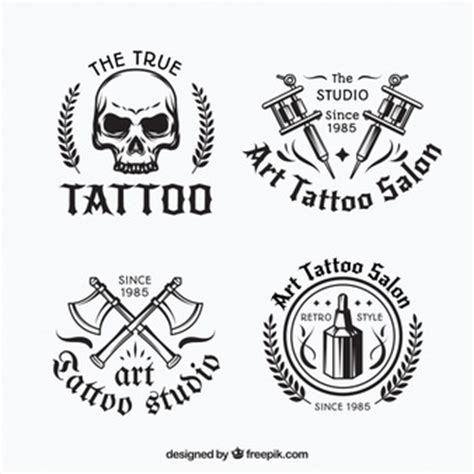 tattoo logo download tattoo vectors photos and psd files free download