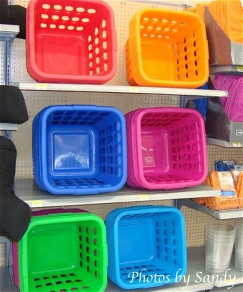 colored laundry baskets pin by aura on getting organized
