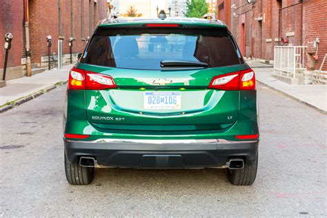 chevrolet equinox back 2018 chevrolet equinox fwd lt 2 0t review giddy up