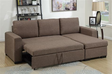 Pull Out Loveseat Sleeper by Poundex 2 Pcs Pull Out Sofa Sleeper With Storage F6932