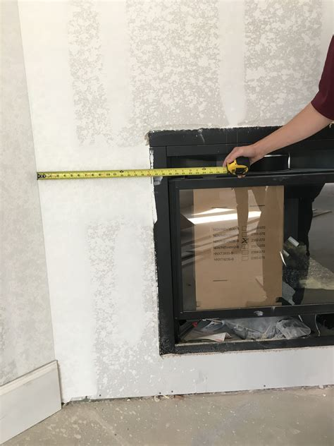 how to measure for a fireplace surround cast places