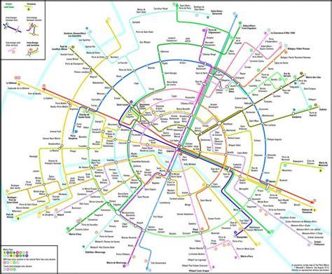 1000 Id 233 Es Sur Le Th 232 Me Plan Metro Paris Sur Pinterest