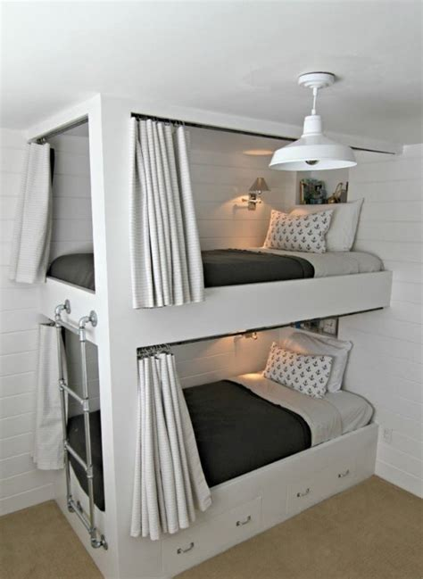 Functional Bunk Beds 25 Functional And Stylish Bunk Beds With Lights Digsdigs