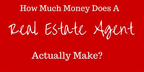 how much do real estate agents make per house how much money does a real estate agent make stl real estate