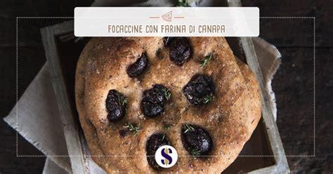 promo canapé focaccine con farina di canapa olive greche e timo