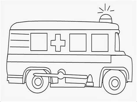 ambulance coloring pages to print coloring pages