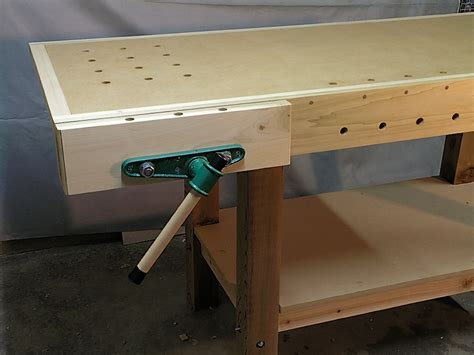 install bench vise woodworking bench vise installation online woodworking plans