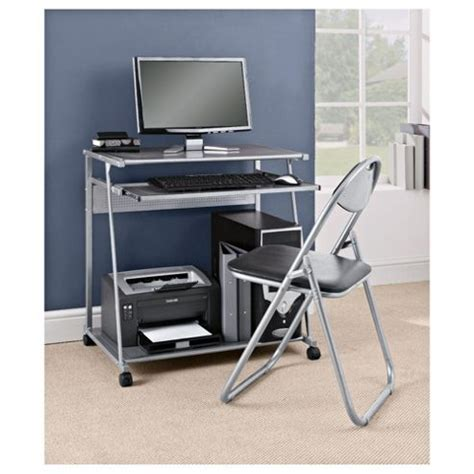Silver Computer Desk Buy Delta Computer Desk Silver Folding Chair Set From