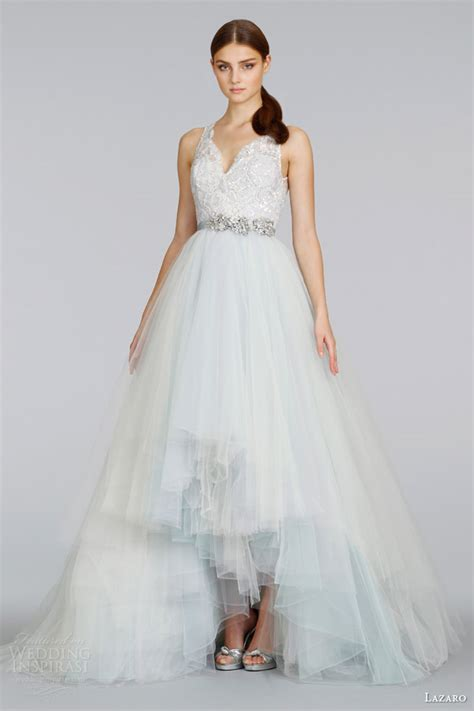 wisteria colored dresses lazaro 2014 wedding dresses wedding inspirasi
