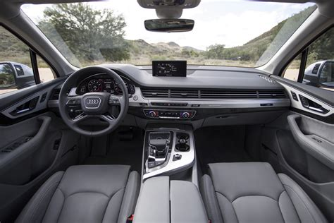audi suv q7 interior 2016 audi q7 front radar photo 15