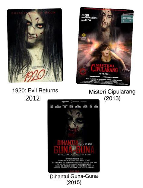film horor kocak kocak wajah hantu ini hiasi 3 film horor indonesia yang
