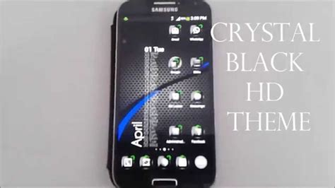 nova launcher hd themes crystal black hd theme for apex go launcher adw nova youtube