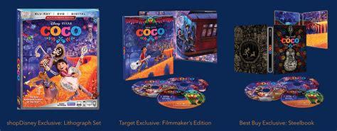 coco blu ray bd 3d bd dvd steelbook coco 6 avril 2018