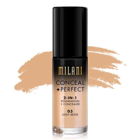 Milani Concealperfect 2 In 1 Foundation milani conceal 2 in 1 foundation