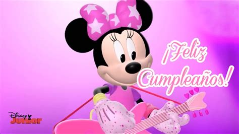 imagenes cumpleaños minnie canci 243 n feliz cumplea 241 os de minnie mouse youtube