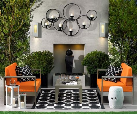 decorations for homes candle outdoor wall decor diy calm and charming outdoor