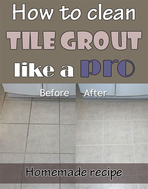 Cleaning Bathroom Grout How To Clean Tile Grout Like A Pro Recipe Cleaning Expert Net