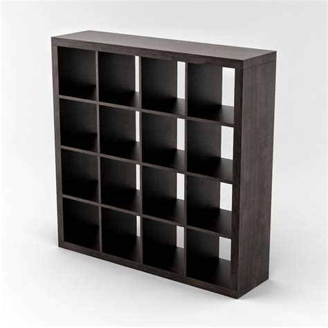 ikea expedit shelving unit 04 3d model max cgtrader