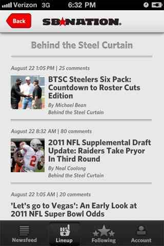 behind the steel curtain sb nation iphone app update now available behind the