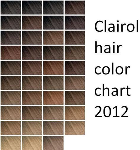 nice and easy color chart clairol hair color chart professional om hair