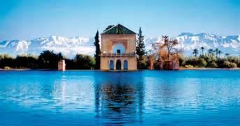 marrakech en cal 232 che visite des jardins et murailles de