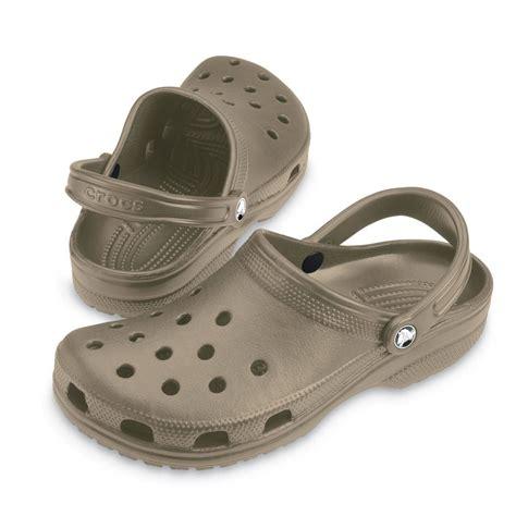 crocs shoes crocs classic shoe khaki original crocs slip on shoe