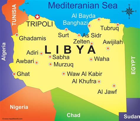 libya map libya could produce more energy in solar power than reve