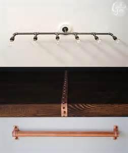 how to make pipe light fixture remodelaholic diy geometric copper pipe pendant light