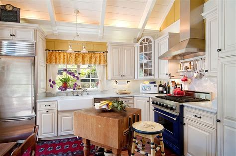 Butcher Block For Kitchen Island 50 fabulous shabby chic kitchens that bowl you over