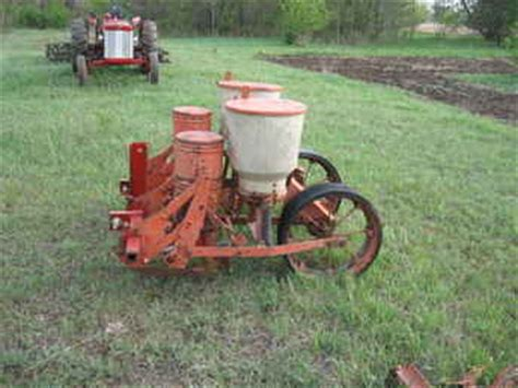 used farm tractors for sale allis chalmers 2 row planter